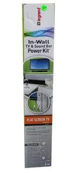 in wall tv soundbar power kit