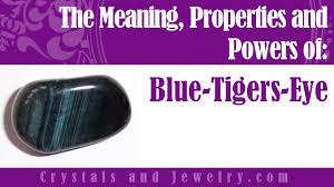 blue tigers eye meanings properties