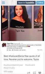 Senior Quotes Tumblr Impressive Taylor Rice How My Senior Quote Got Almost 4848 Likes