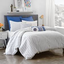 amalfi stripe duvet cover collection