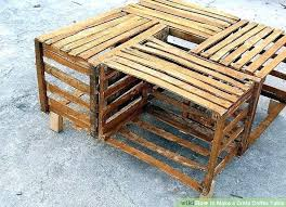 wooden fruit crate coffee table apple plans kitchen pretty image titled make a step 7 c