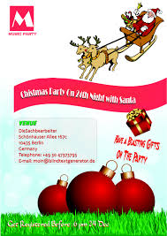 Free Printable Christmas Flyers Templates Free Printable Christmas Party Invitations Templates And Ugly 1