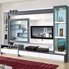 Small Picture Living Room Furniture Wood Lcd Tv Wall Unit Design Buy Lcd Wall