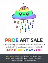 Art Event Flyer Simple Pride Art Sale Event Flyer Template