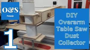 overarm table saw dust collector upgrade part 1 pöytäsirkkelin uusi pölynpoisto osa 1