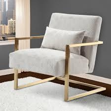 armen living lcskchcr skyline modern accent chair in cream