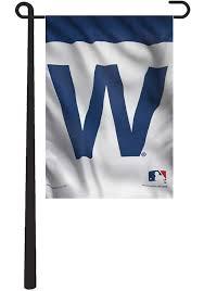 chicago cubs w logo garden flag image 1