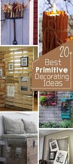 20+ Best Primitive Decorating Ideas - Hative