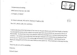 Thank You Letter To Doctor New Compassionate Oncology Medical Group Patient Feedback