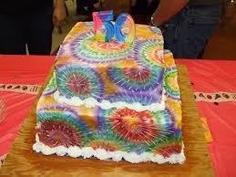 Tie Dye Birthday Cake Designs Tie Dye Cake Cakecentral Com