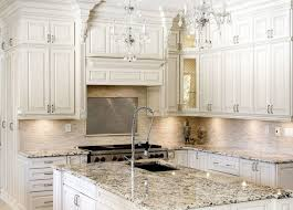 lovely all white antique shaker kitchen hutch with mitered wooden door featuring marbles countertop kitchen islands