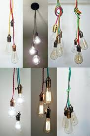 plug in pendant lighting 3 cer custom any colors multi pendant by plug in pendant lighting