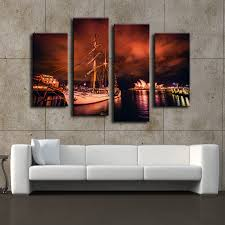4 pieces of wall art sydney opera home decor wall pictures for living room wall art canvas painting unframed decoration pictures in painting calligraphy  on wall art sydney with 4 pieces of wall art sydney opera home decor wall pictures for