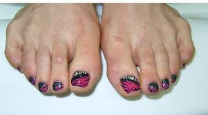 Toe Nail Art Designs 9 Simple And Easy Toe Nail Art Designs For Beginners