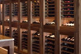 wine cellar furniture. a bank of vigilant custom refrigerated wine cabinets cellar furniture t