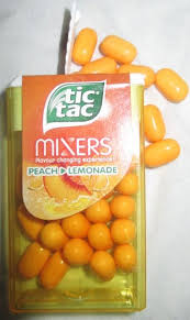 foodstuff finds tic tac mixers flavour changing sweets which go from peach to lemonade