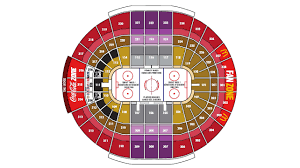 Air Canada Centre Seating Chart Hockey Arena Map Canadian Tire Centre