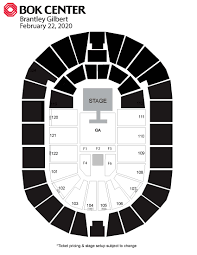 Bok Center Tulsa Oilers Seating Chart Events Bok Center