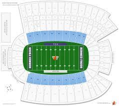 Amon Carter Stadium 200 Level Sideline Football Seating