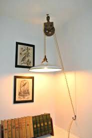 hanging light with plug hanging lamp plug into wall ceiling lighting in light within lights pertaining hanging light with plug
