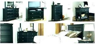 Bedroom Sets ~ Greensburg Bedroom Set Ture Black Chest Dresser In ...
