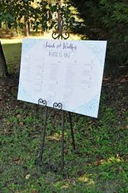Wedding Reception Seating Chart Wiregrass Weddings
