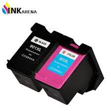 Niet compatibele zwarte cartridge