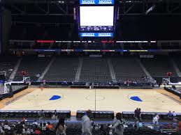 Vystar Veterans Memorial Arena Section 103 Basketball