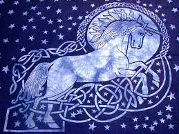 image of celtic tapestry wall hangings