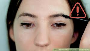 image led make your nose look smaller step 14