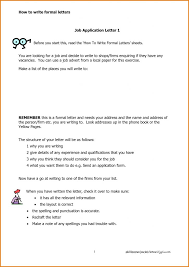 Formal Job Cover Letter Format Save Template Formal Cover Letter ...