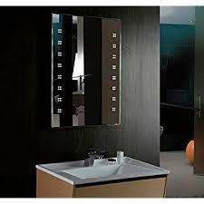 700 x 500mm Illuminated LED Bathroom Mirror with Demister & Shaver