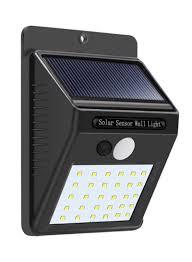 Everbrite Solar Light Not Working Shop Generic 30 Led Solar Powered Wall Motion Sensor Light