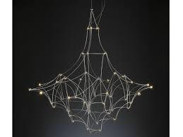 Quasar lighting Universe Reuter Shop Nickel Pendant Lamp With Swarovski Crystals Mira By Quasar