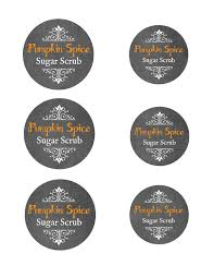 Pumpkin Spice Sugar Scrub With Printable Mason Jar Labels