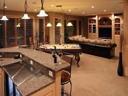 basement rec room. basement kitchen and bar finished design ideas provided storage for rec room
