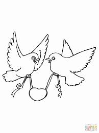 Disegni Da Colorare Sulla Pace Bambini Con Di Uccelli Facili The
