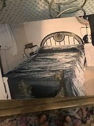 art deco art nouveau 1920s brass bed