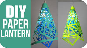 Diy Paper Lanterns Diy Lanterns How To Make Hanging Paper Lanterns Youtube