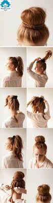 Die Besten 25 Frisuren Anleitungen Ideen Auf Pinterest Z Pfe
