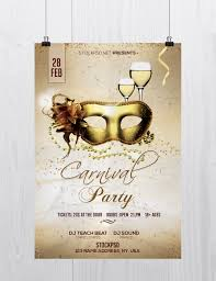 Free Carnival Poster Template Carnival Party Free Flyer Psd Template Free Psd Flyer