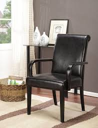 Kitchen Chairs With Arms Amazoncom Kings Brand Set Of 2 Espresso Parson Chairs With Arms
