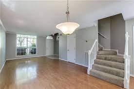living room gray walls brown furniture