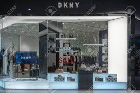 Di Design Thailand Dkny Shop At Emquatier Bangkok Thailand Dec 25 2018 Luxury
