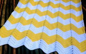 Crochet Patterns Blanket Stunning Chevron Baby Blanket Free Crochet Pattern Bellus Threads