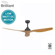 bahama dc ceiling fan with remote charcoal motor with maple blades 52