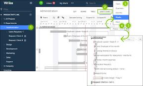 Wrike Print Gantt Chart Zoom In Or Out On The Gantt Chart Wrike Help Portal