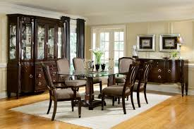Elegant Dining Room Sets Elegant Dining Room Chairs Renovationg - Glass dining room furniture sets