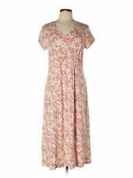 Details About Sahalie Women Pink Casual Dress L