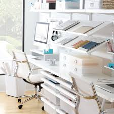 office shelf ideas. White Elfa Décor Office With Angled Solid Metal Shelves Shelf Ideas I